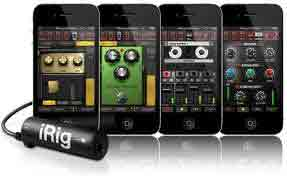 Amplitube App for the iPhone